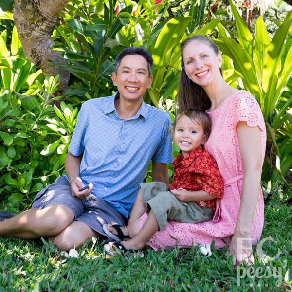 EC Peesy Owner Heidi Avelino and Family