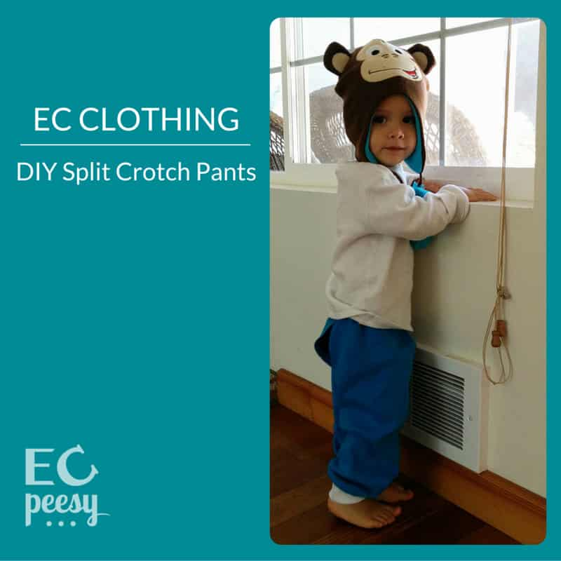EC Clothing DIY Split Crotch Pants
