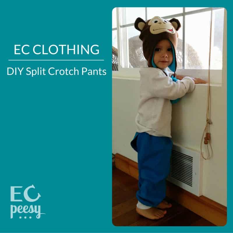 EC Clothing DIY Split Crotch Pants