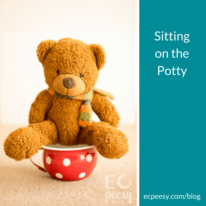 Sitting on the Potty