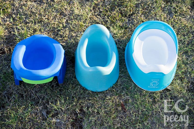EC Potties: Potette Plus, BecoPotty, and BabyBjorn Smart Potty
