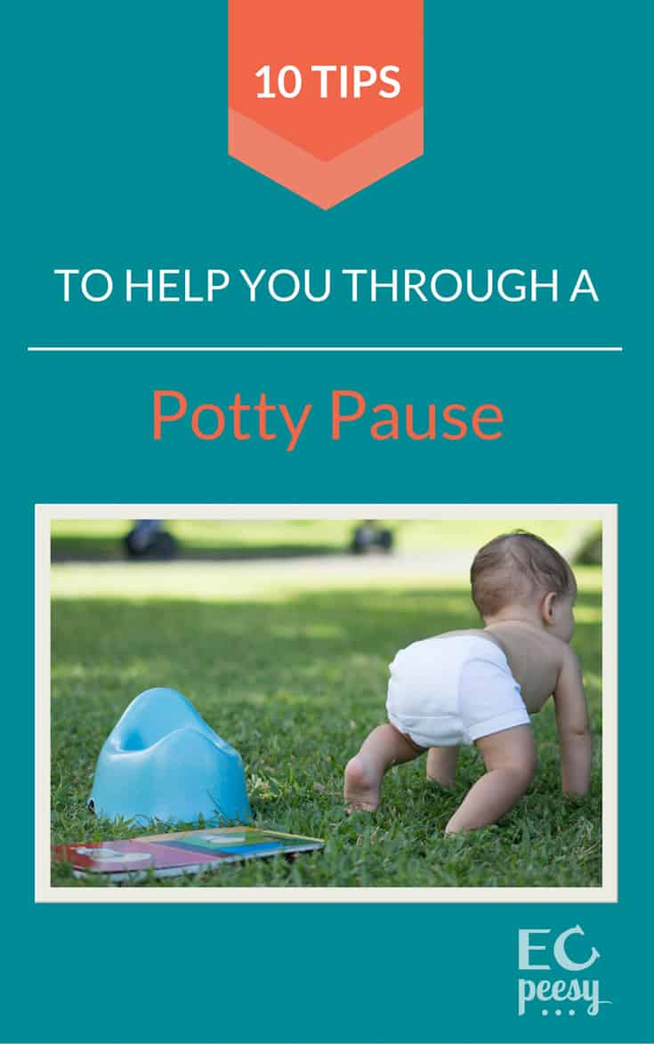 10 Tips to Help You Through an Elimination Communication Potty Pause
