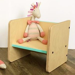 Montessori Cube Chair by Beehive Recess