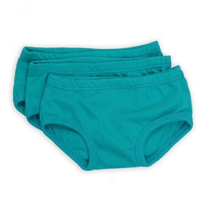 Aqua Blue Tiny Undies 3 Pack