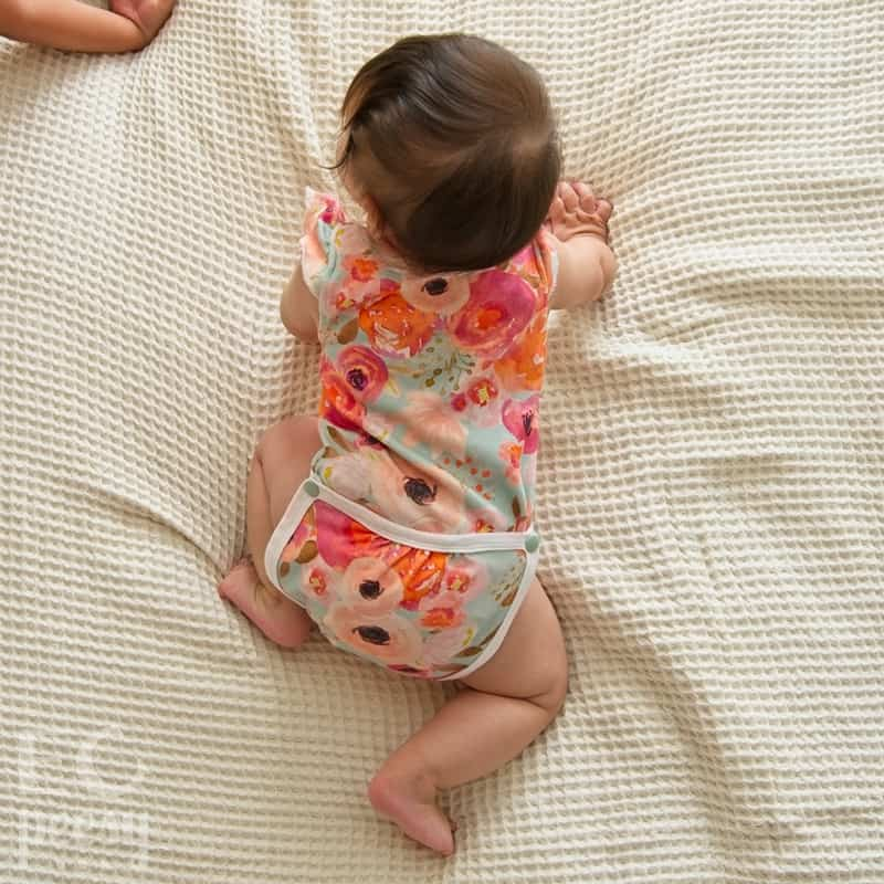 Eviry Co Drop-flap Baby Bodysuit