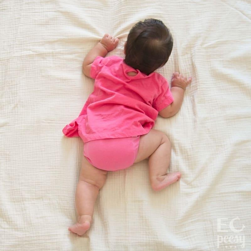 Baby Wearing Komfi Baby Pink Underwear