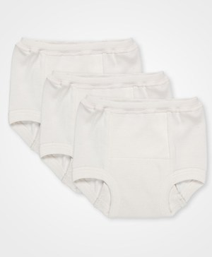 Pact Organic Cotton Training Pants White