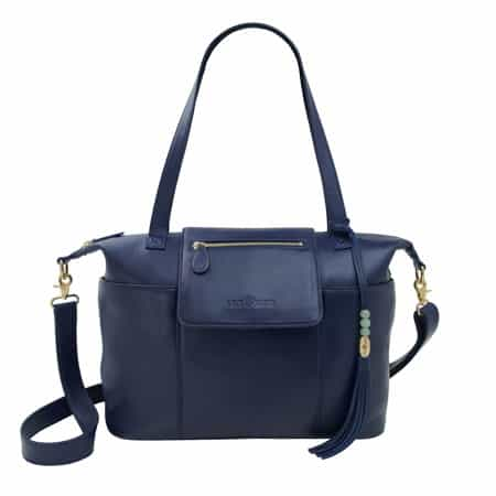 Lily Jade Madeline Diaper Bag Backpack Navy
