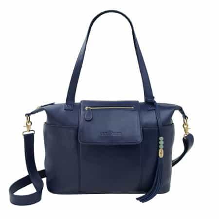 Lily Jade Madeline Diaper Bag Backpack Navy