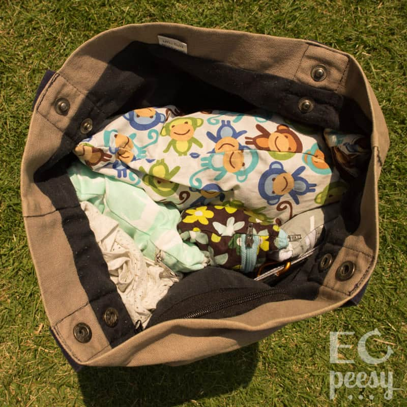 Packed Potty Tote Toddler EC