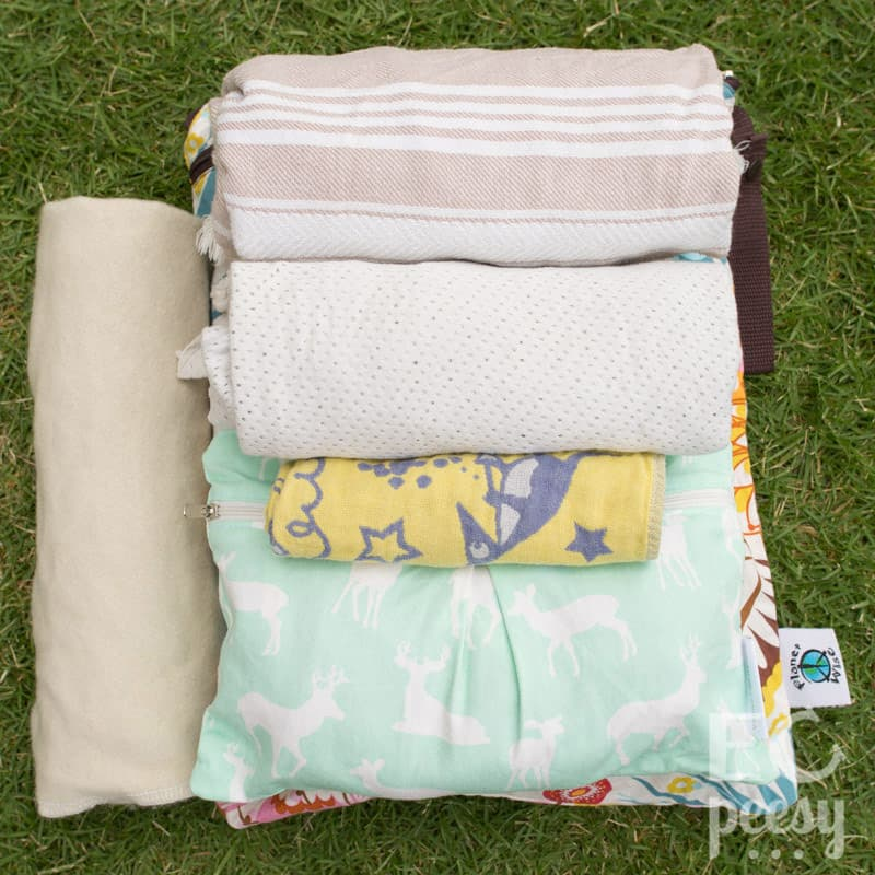 Pack Diaper Bag EC Newborn Blankets