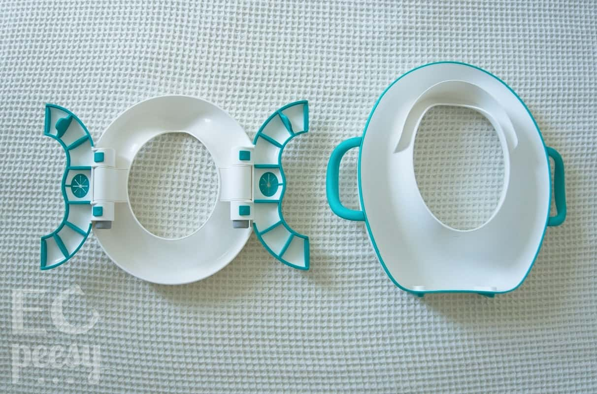 OXO Tot Travel Potty and Sit Right Toilet Seat Reducer Back