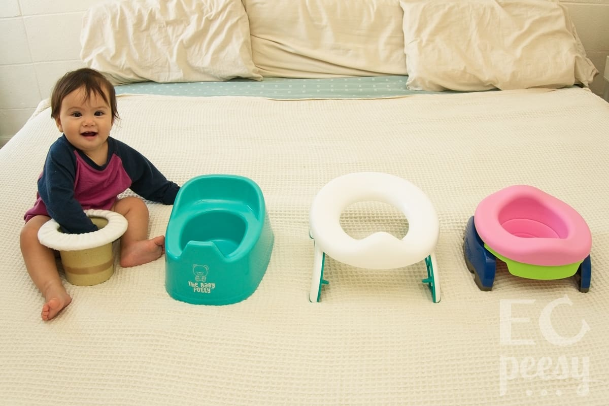 The Baby Potty Top Hat Potty Comparison