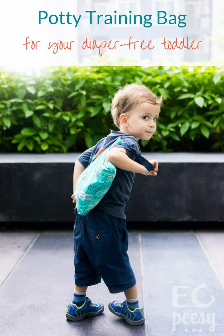 Potty Training Bag for Your Diaper Free Toddler