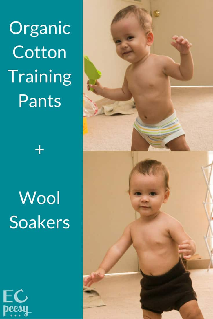 Organic Cotton Training Pants, Plus Wool Soakers