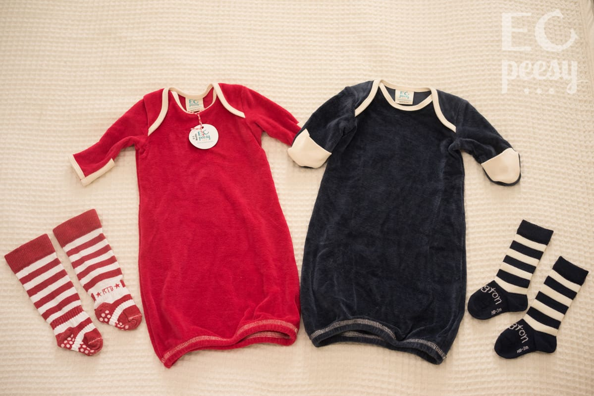 Baby Sleep Gowns and Socks for Nighttime EC