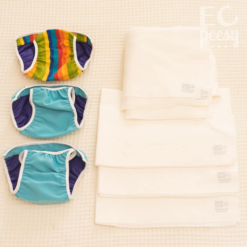 Flaparap Shells and Organic Cotton Pads