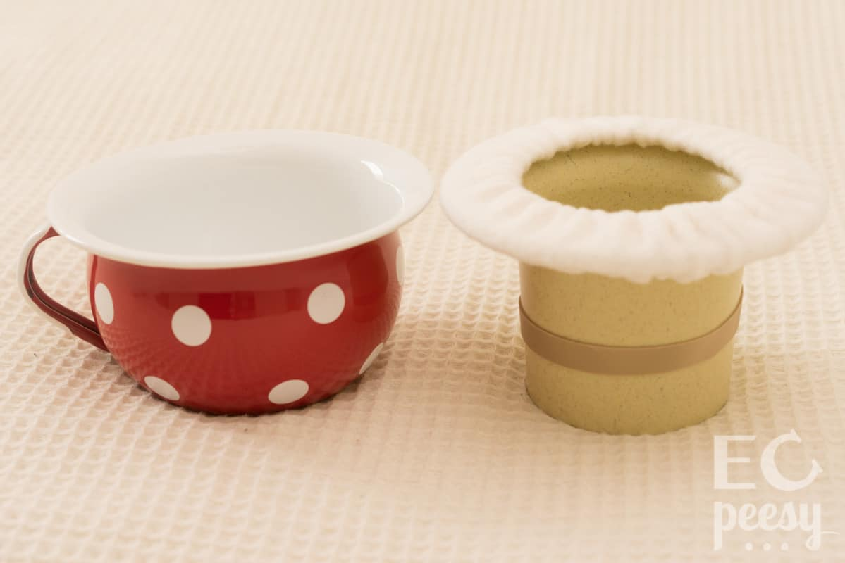 Newborn Elimination Communication Potties: Chamber Pot and Top Hat Potty