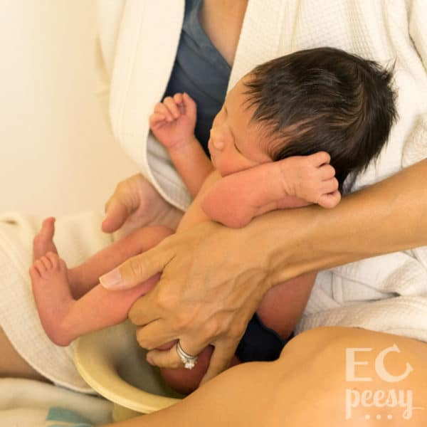 Elimination Communication with a Newborn from Birth