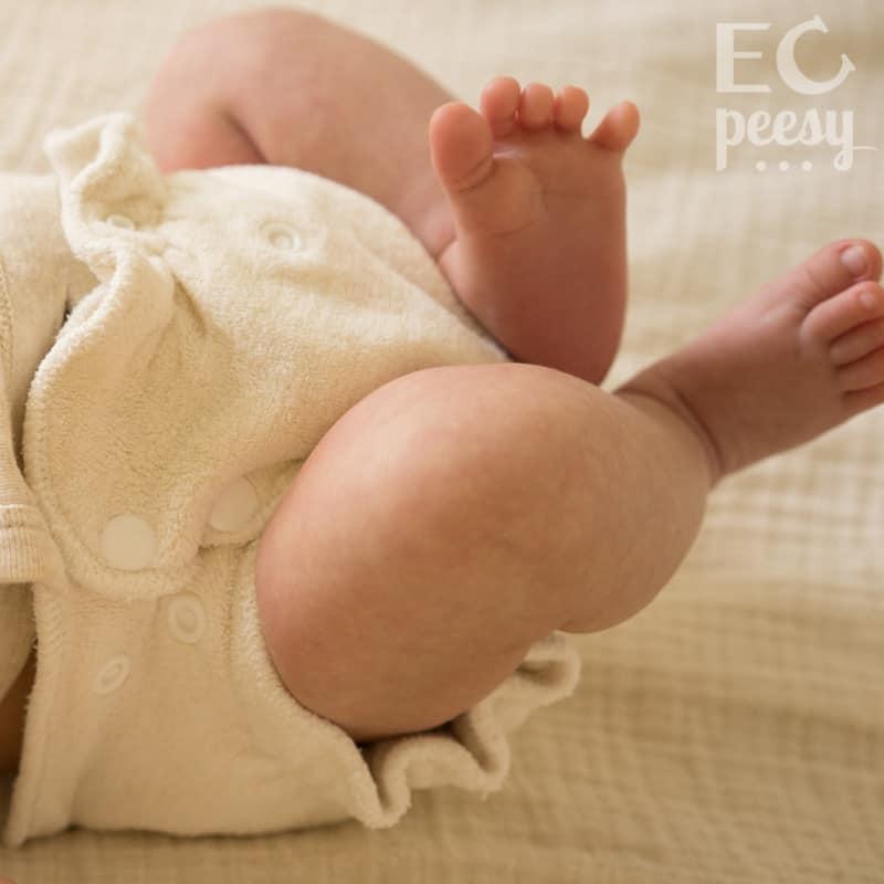 Blueberry Newborn Organic Cotton Fitted Diaper