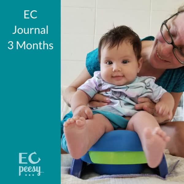 Elimination Communication 3 Months Old Baby