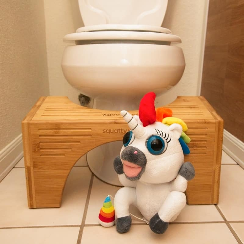 Squatty Potty Flip and Dookie the Pooping Unicorn