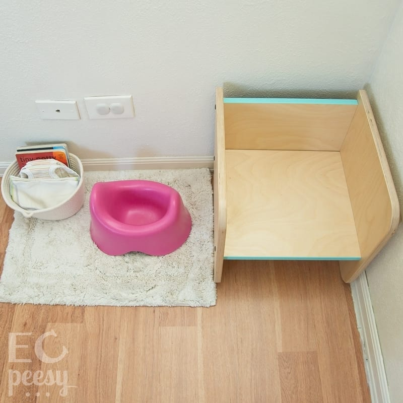 Montessori Potty Station - Toilet Learning Toddler