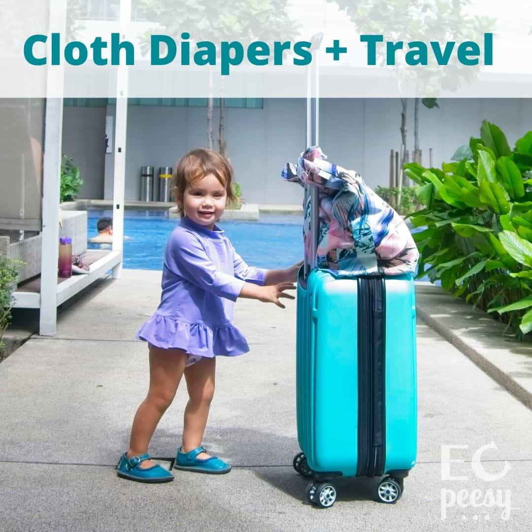 Guide to Cloth Diapering While Traveling