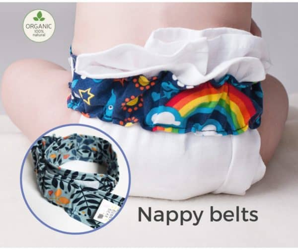 Little Bunny Bear Diaper Nappy Belt