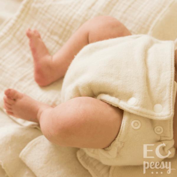 Newborn Cloth Diaper Stash for Elimination Communication