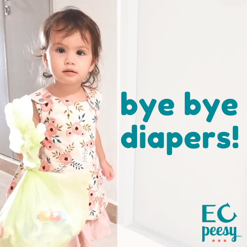 Bye Bye Diapers Potty Training at 20-Months-Old