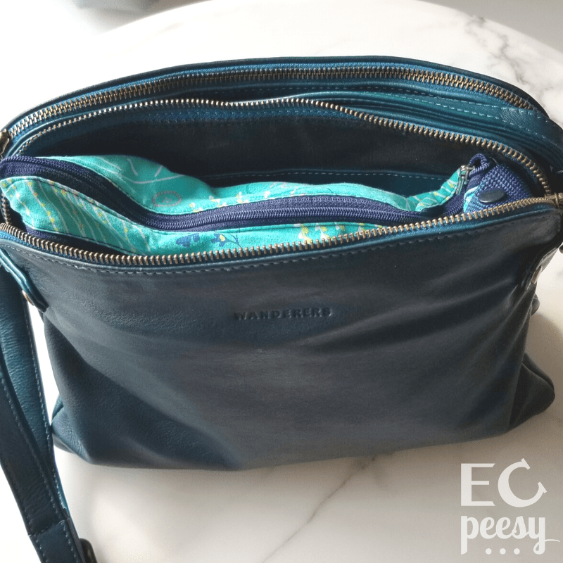 Purse Packed for Potty Training Toddler