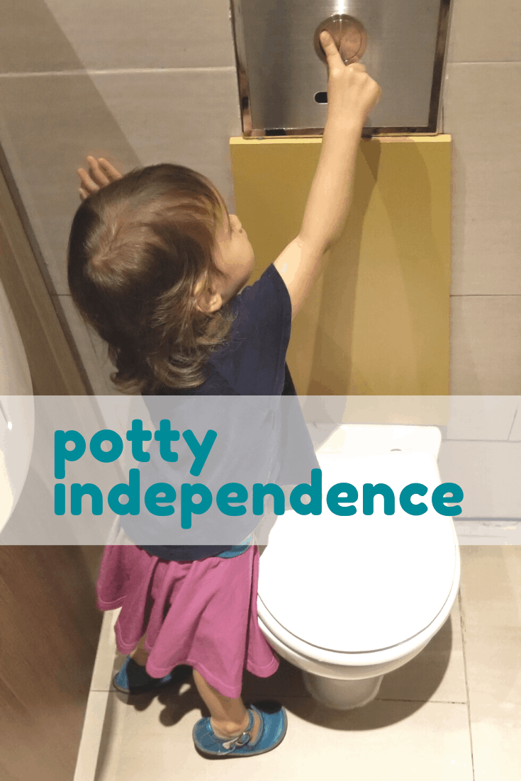 Reach for Potty Independence