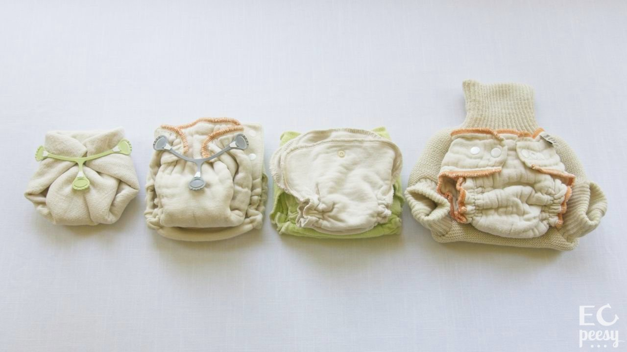 Natural Cloth Diaper Absorbency Cotton