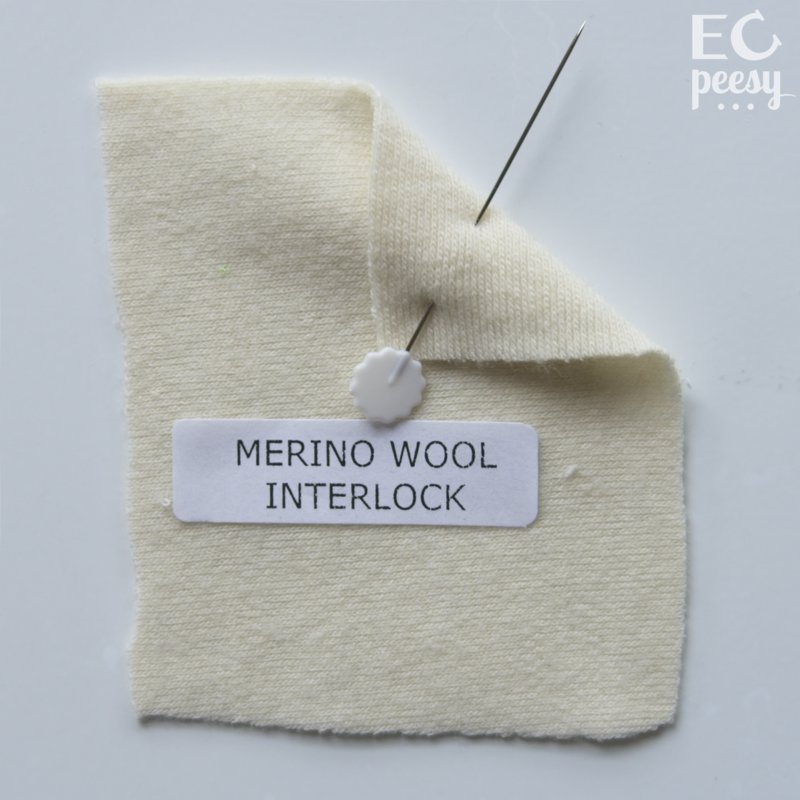 Merino Wool Interlock Swatch