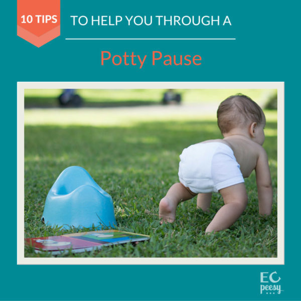 10 Tips to Help You Through a Potty Pause